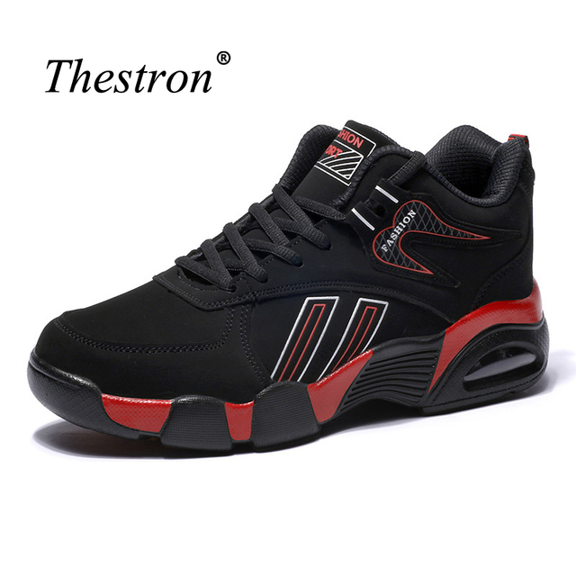Thestron Men Running Sneakers Winter Shoes For Men Sports Mid Top Sport Brand Sneakers Men Good Quality Running Shoes For Men