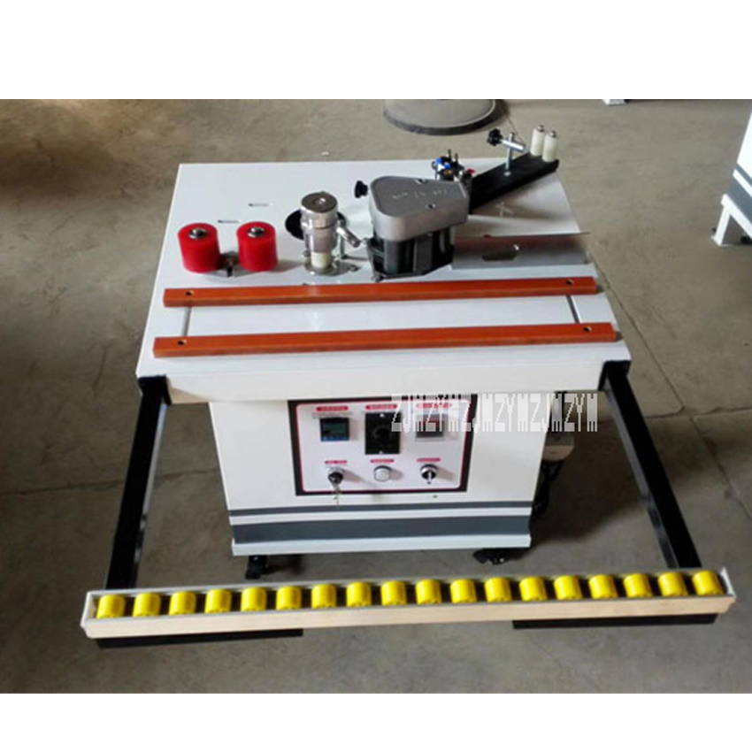 US $750 0 |Home Wood PVC Edge Banding Machine Portable Edge Banding Machine  Woodworking Decoration Mini Edge Banding Machine 220V / 380V-in Wood Based