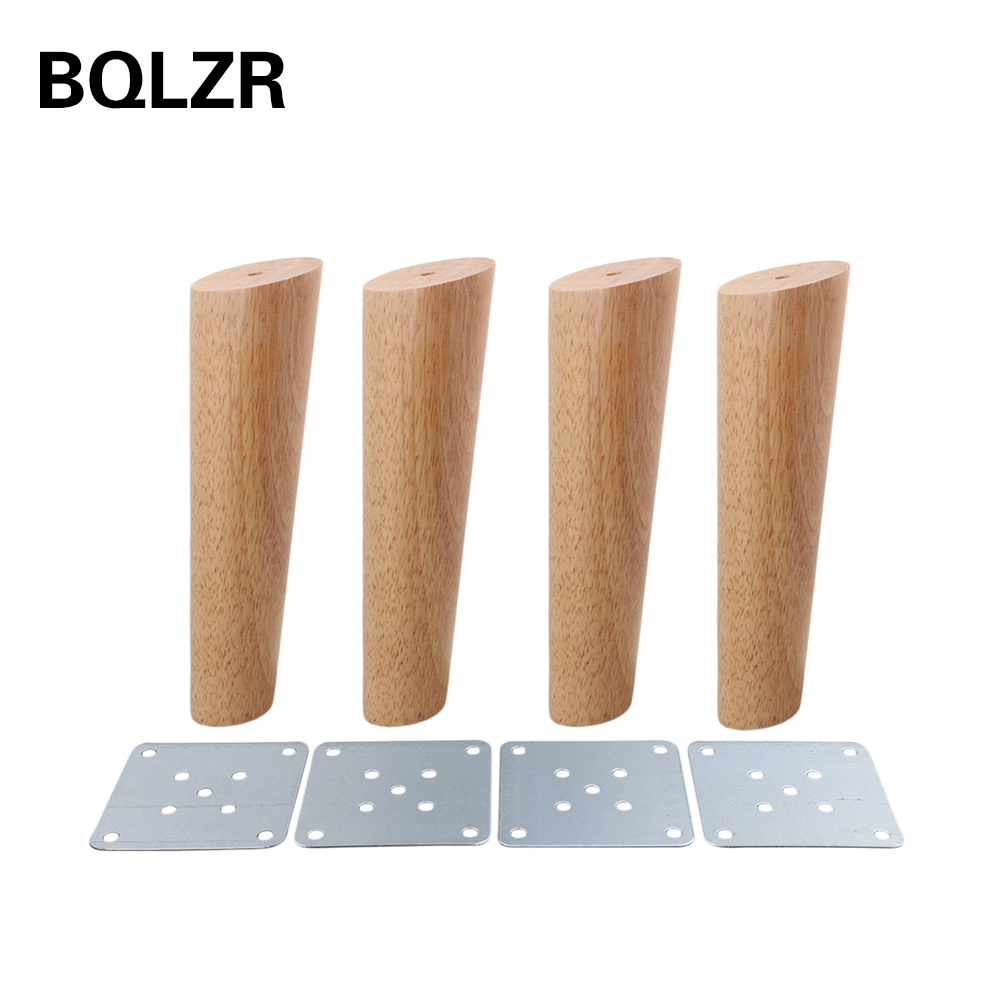 ᐊBqlzr 20 cm altura color madera oblicua cónicos confiable madera ...