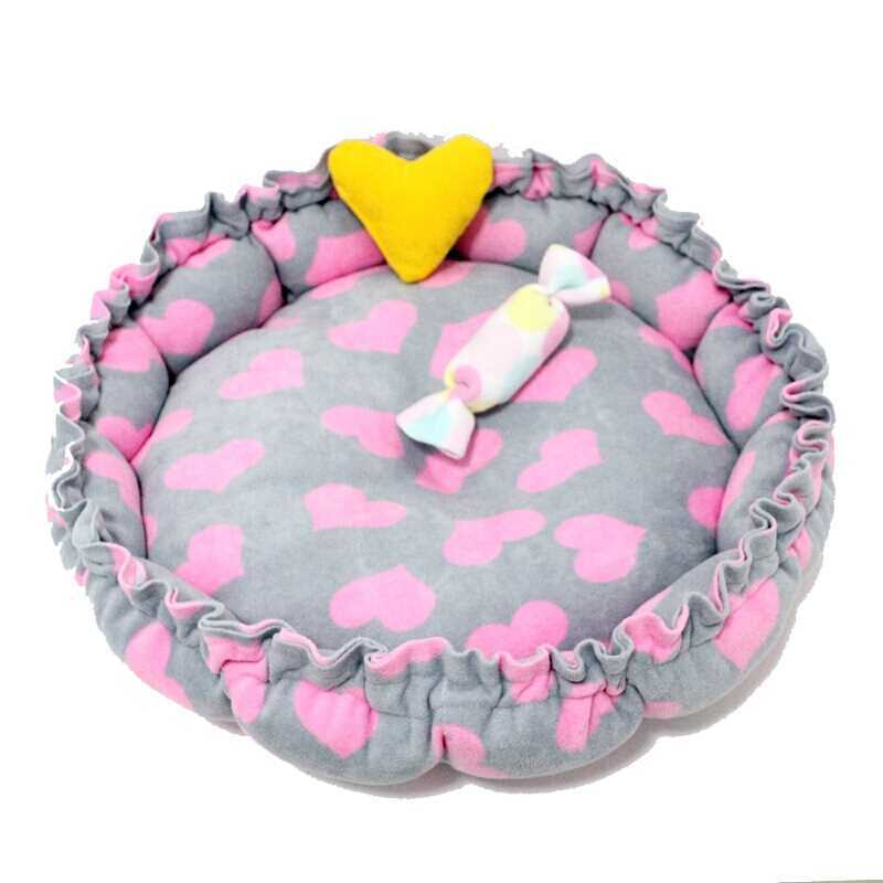 Original Pumpkin Nest Cat Dog Bed Mat Warm Pet House Kennel Sofa Cute Soft Pet Mini House Cage for Small Medium Dogs Cats Bed in Cat Beds Mats from Home Garden