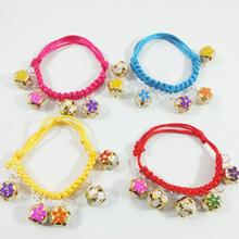Dog Collar Pet Puppy Cat Adjustable Necklace Weave Rope Belt NEW Fashion Bling For Small Medium