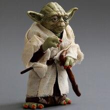 Poupée décorative en PVC pour Yoda, ornement de voiture pour tableau de bord, modèle daction de Yoda, intérieur de lautomobile, jouets, accessoires, cadeau