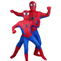 Spiderman Cosplay Costume Clothing Sets Spider Man Suit Halloween Party Spiderman Pattern Bodysuit Suit Jumpsuits Cosplay Set