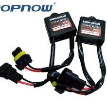 2Pcs Xenon HID Xenon H7 Lights Decoder Kits HID Light Lamp Relay Capacitor Error Warning Canceller Load Resistor Canbus Decoder
