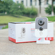 in stock free shipping with DHL DS-2CD2432F-IW,3MP IR Cube Network Camera w/ Wi-Fi, Network IP camera