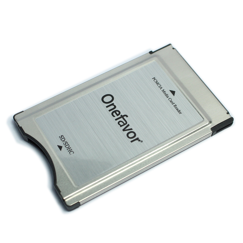 Image 2 - New Store Promotion!!! SD card adapter onefavor PCMCIA card reader for Mercedes Benz MP3 memory-in Memory Card Adapters from Computer & Office