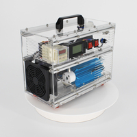 Pinuslongaeva BO 1030QY 0 10g/h 10gram adjustable acrylic shell ozone generator disinfection machine for air or water