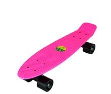 22 Inches Skate Board Banana Style Mini Cruiser Long Board Pastel Color Adult Child Fish Skateboard