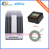 MT50 Meter built in small lcd MPPT tracking solar regulator Tracer3215BN 12V 24V auto work 30A shipped by TNT Fedex UPS