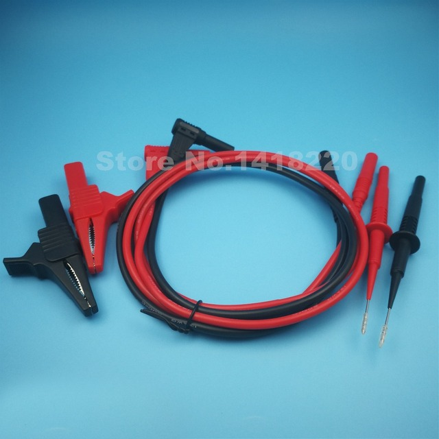 1Set Insulation 32A 1000V Large Alligator Clip Test Clip Piercing ...