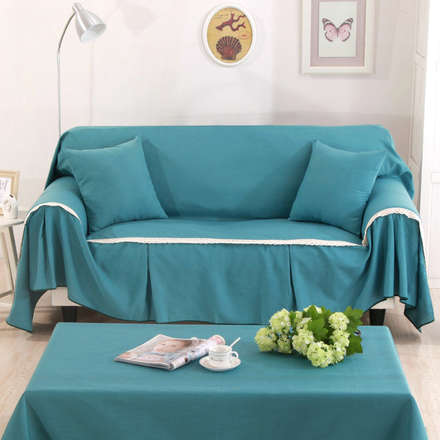 Aliexpress.com : Buy Linen Cotton Slip resistant Sofa Slipcover Couch Cover  Living Room Sofa Towel Home Decor For Single/Two/Three/Four Seater Sofa ...
