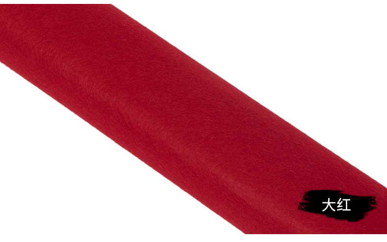 craft 100-76mm RED FELT BAIZE round DISCS self adhesive protect cover