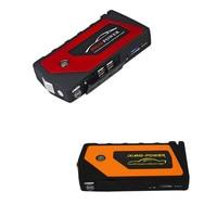 12V 8000mah Multi Function Car Charger Battery Jump Starter 4USB LED Light Auto Emergency Mobile Power Bank Tool Kit