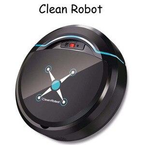Перезаряжаемый робот для автоматической уборки умный подметальный робот для пола, грязная Пыль для волос, автоматический очиститель для до...