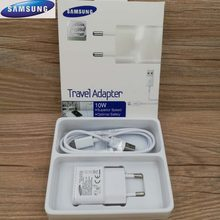 Cargador USB Original Samsung Galaxy 5V2A adaptador de pared UE EE. UU. 1 M/1,5 M Cable Micro Usb para j1 j7 j5 j4 j3/A8 A9 2018 S4 S6 S7 borde(China)