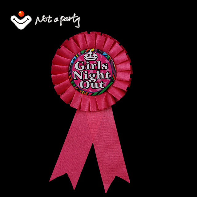 12pcs of wedding event badge girls night out fun zebra design pink 12pcs of wedding event badge girls night out fun zebra design pink ribbon decoration bachelorette party junglespirit Images