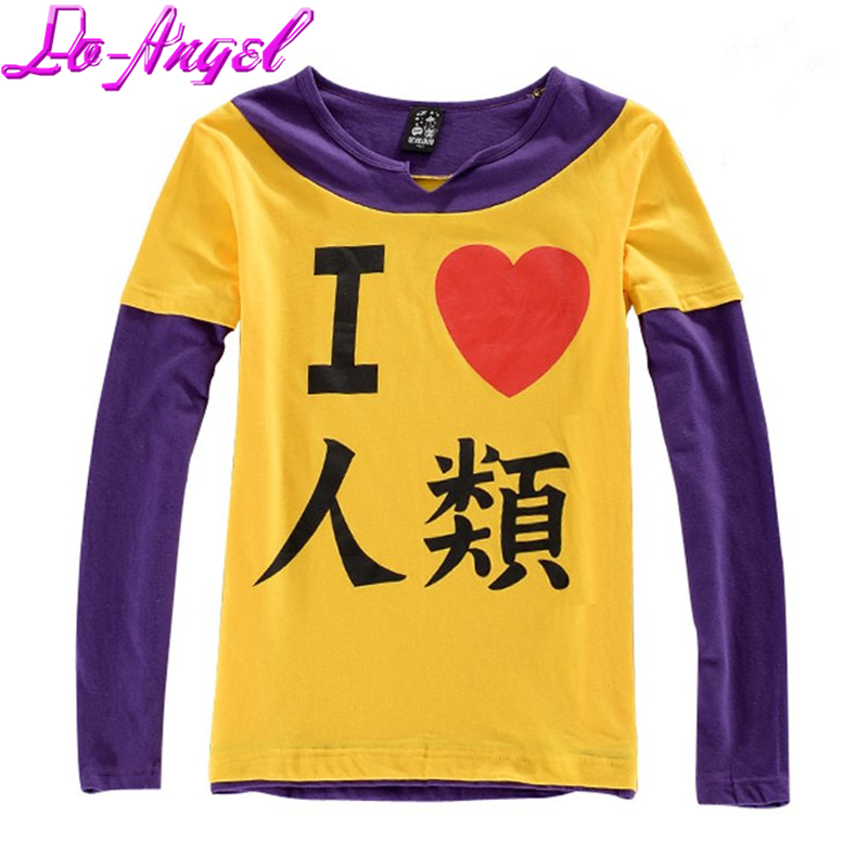 Anime NO GAME NO LIFE Sora Tees Cosplay Costume Short/Long Sleeve Tee T-shirt Casual Cotton Tops Gift wrist
