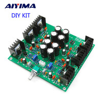 JLH HOOD 1969 Class A Headphone Amplifier Small Power Amplifier Pre Amp DIY KITS