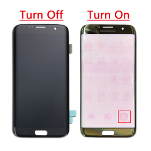 Image 3 - ORIGINAL 5.5 SUPER AMOLED Red Burn LCD with frame for SAMSUNG Galaxy s7 edge G935 G935F Touch Screen Digitizer Display