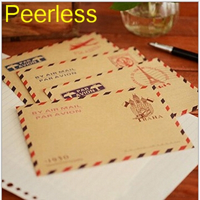 Paper Envelopes Expressive Peerless 10 Pcs/set Mini Retro Vintage Kraft Paper Envelopes Cute Cartoon Kawaii Paper Korean Stationery Gift Sale Price Mail & Shipping Supplies