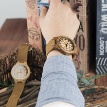les montres DODO DEER Wooden Men Watches Lover Top Brand Luxury Stylish Women Quartz Watch Personalized Gifts for Couples A19 все цены