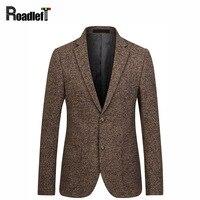 Male Woolen Blended Fabrics Slim Fit Blazer Mens Brand Clothing Suit Jacket Men Wedding Dress Suit