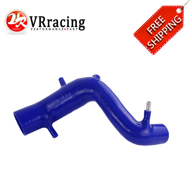 VR RACING - FREE SHIPPING Silicone AIR INTAKE INDUCTION Hose Pipe for Audi TT 180 / Beetle 1.8T BLUE VR-LX-1061