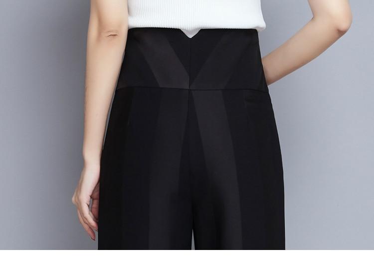 2018 Large Lâche 2 Nouveau Jambe Femelle Haute 79164 Marque La Rayé Printemps 1 3 Automne Pantalon Filles Taille Et Plus Femmes Vêtements AAc6rgqR