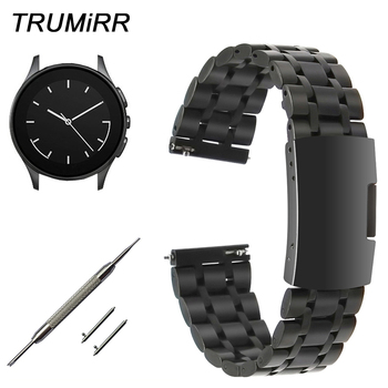 22mm Quick Release Stainless Steel Watchband for Vector Huawei Watch 2 (Classic) Moto 360 2 46mm Amazfit Wrist Band Link Strap