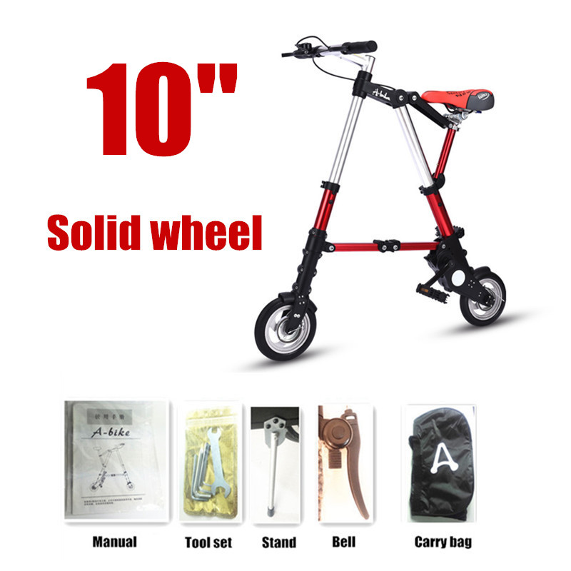 10 Solid wheel red