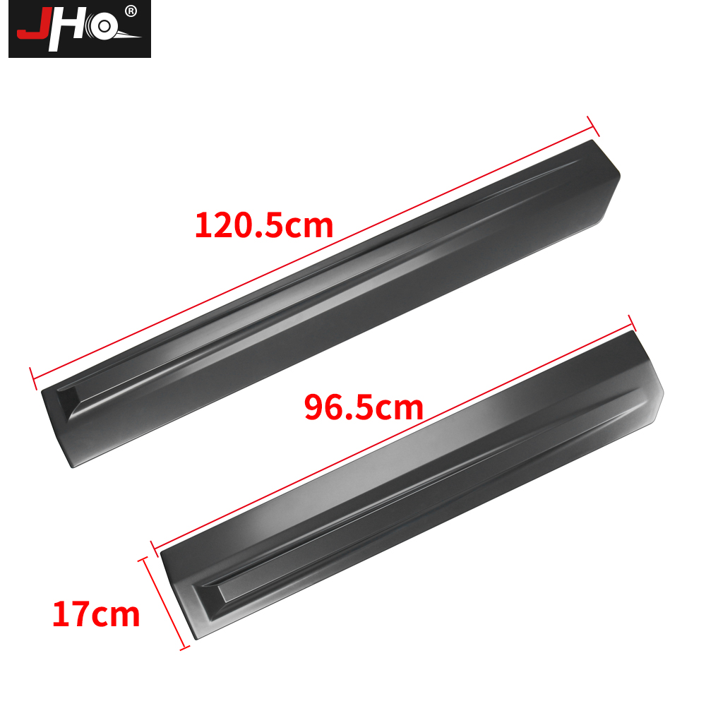 Image 5 - JHO Truck Door Anti scratch Panel Cover Trim For 4 Door Ford F150 2017 2019 Raptor 2018 Pickup Styling Protective AccessoriesStyling Mouldings   -