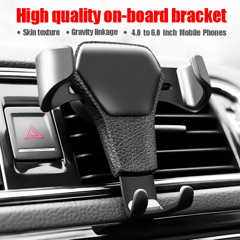 100 PCS Wholesale Gravity Car Phone Holder Stand Holder For Phone In Car No Magnetic Mobile Phone Stand Holder-in Phone Holders & Stands from Cellphones & Telecommunications    1