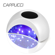 T2S Nail Dryer 36W UV LED Lamp Nail with Smart Timer Memory Invisible Digital Timer Display with Fan Negative ions Nail Drying