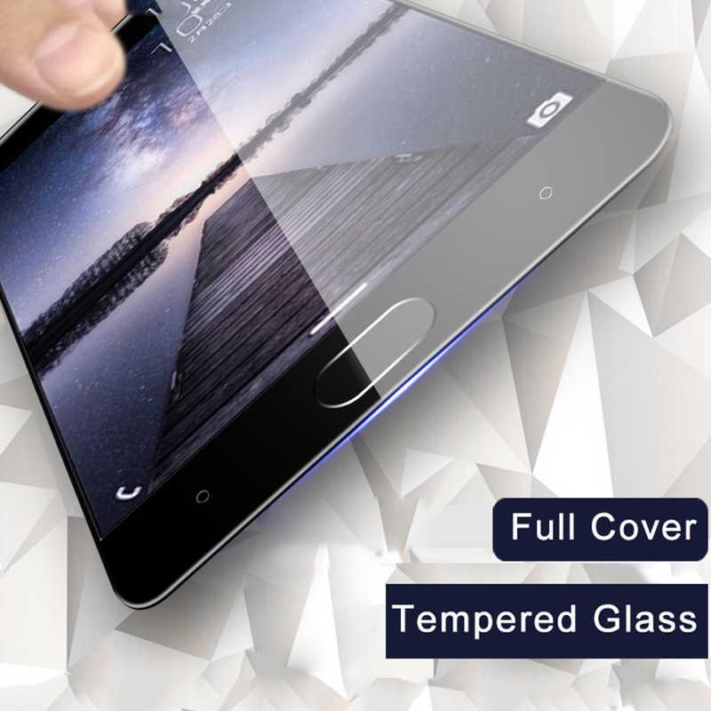 Cubierta completa para zte axon 7 de vidrio para zte blade v8 de vidrio templado protección de pantalla 9 H 2.5D protección v 8 glas cobertura película