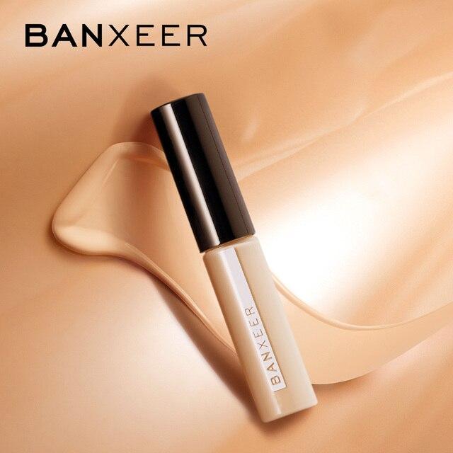 BANXEER Concealer Cream 3 Color Oil-control Whitening Brighten Face Makeup Concealer Liquid Concealer Convenient Concealer Cream