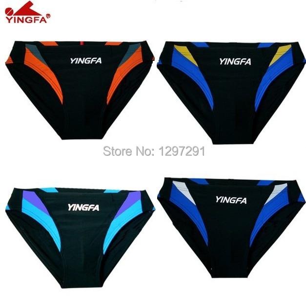 Yingfa Hot Sale Low Waist Swimming Swimwear Mens Sex Swimsuit Brief Men Swim Trunks -9795