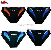 Yingfa حار بيع منخفضة الخصر الرجال جذوع السباحة ملابس السباحة الجنس وجيزة مثير