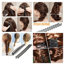 3pcs/lot Fashion Women Twist Styling Hair Braider