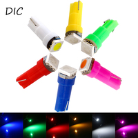 DIC 100X T5 5050 1SMD 24V Wedge Led Auto Light Car Dashboard Vehicle Bulb Instrument Light