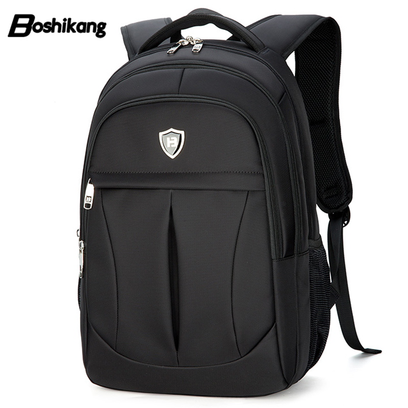 Boshikang Oxford Male Business Backpack 15.6 Inch Computer Bag Men Fashion Travel Backpack Daily Backpack