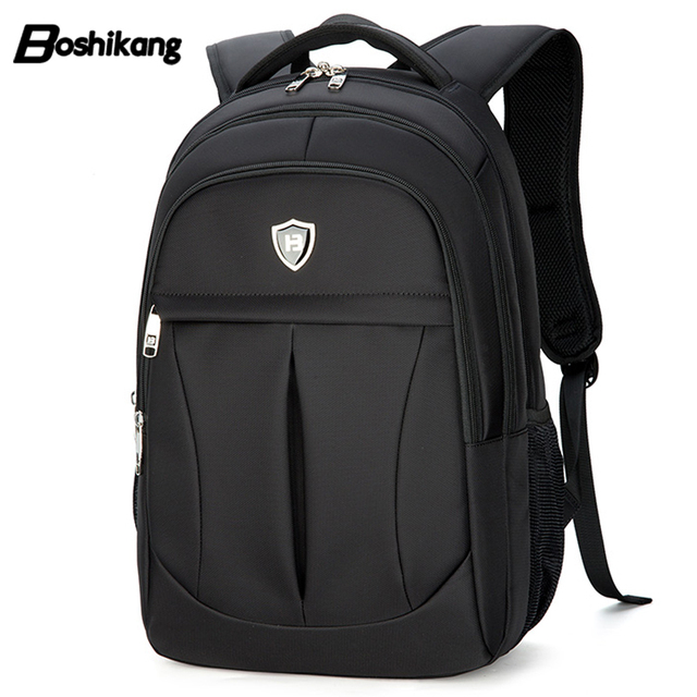 Boshikang Oxford Male Business Backpack 15.6 Inch Computer Bag men Fashion  Travel Backpack Daily Backpack b72aa22b2b