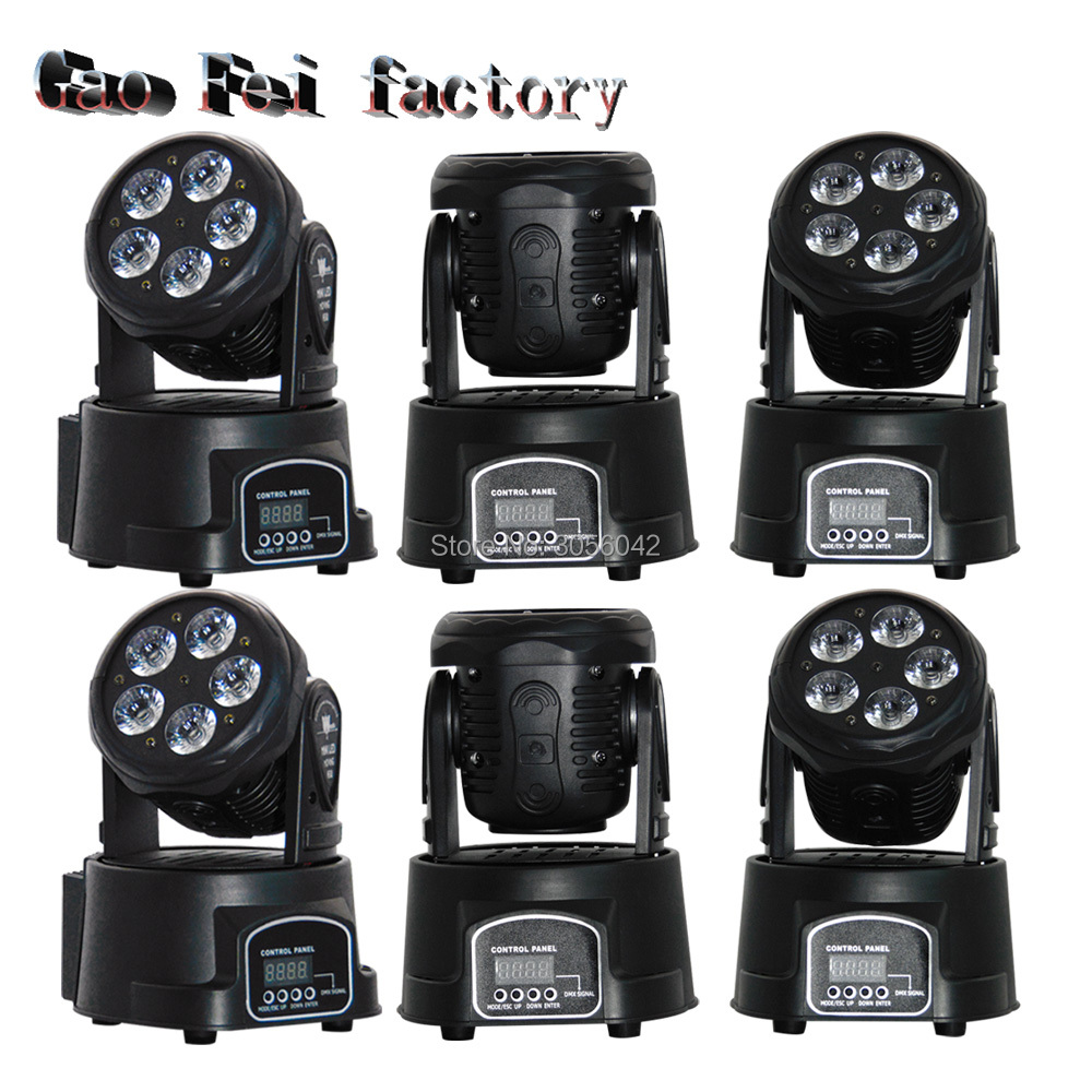 6pcs/lot RGBWA+UV 6in1 moving head stage light 5x15W led DMX Wash dj stage light disco party light moving heads 6pcs lot white color 132w sharpy osram 2r beam moving head dj lighting dmx 512 stage light for party