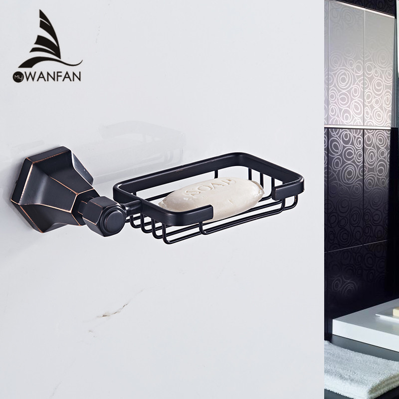 2018 Soap Dishes Brass Chrome Finish Soap Basket Wall Mounted Shower Soap Dish Holder Bathroom Accessories Bath Hardware 93006 newly wall mounted soap dish holder bath soap basket brass soap rack antique bronze