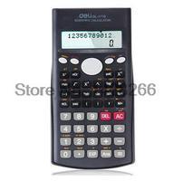 2016 새로운 델리 과학 계산기 컬러 Calculadora 전원 전자 교과서 문구 사무실 소재 학교 용품