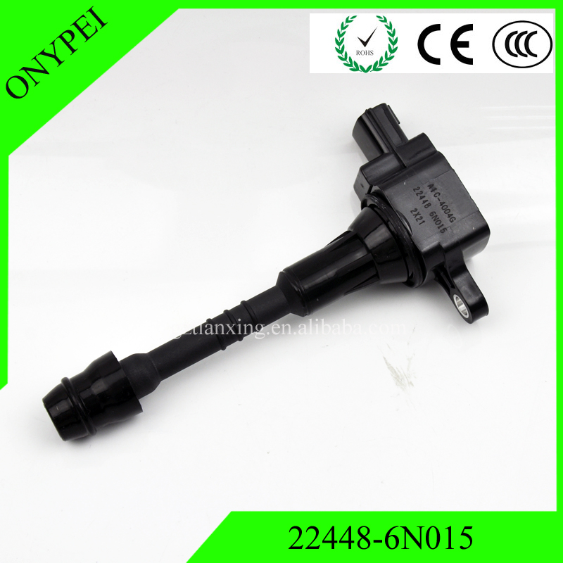 22448 6N015 AIC 4004G 22448 6N011 Ignition Coil For 2001 2006 Nissan Sentra 1.8 Almera N16 Primera P11 22448 6N015 224486N015-in Ignition Coil from Automobiles & Motorcycles