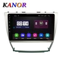 KANOR 10 inch Android 8,1 автомобилей Радио мультимедийный плеер для Toyota Camry 2007 2008 2009 2010 2011 стерео gps навигация Авторадио