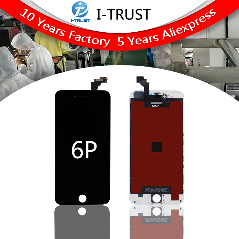 Hot Sale 10pcs Lot LCD Screen For iPhone 6 Plus Display Assembly Digitizer Replacement Grade A