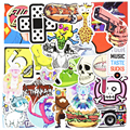 50 Pcs Diy Stickers Mixed Random Funny For Cars Moto Bicycle Laptop Phone Skateboard Luggage Vinyl Decal Home Decor JDM Sticker