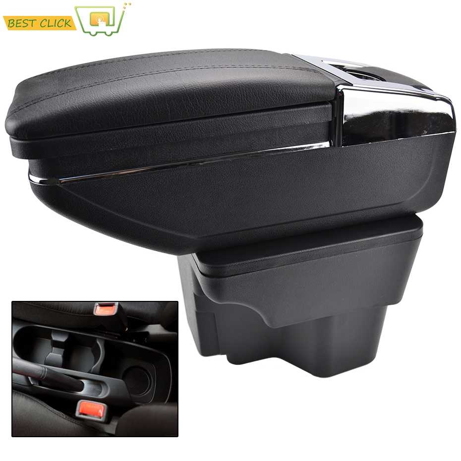 Center Centre Console Storage Box Armrest For Kia Rio 2012-2016 UB Rotatable Arm Rest 2013 2014 2015