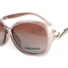 7e3287c09 DANKEYISI الساخن الاستقطاب النظارات الشمسية المرأة النظارات الشمسية UV400  حماية نظارات الموضة مع حجر الراين نظارات
